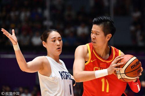 [高清组图]中国女篮险胜朝韩联队 重夺亚运会冠军