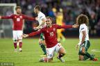 [高清组图]埃里克森梅开二度 丹麦2-0威尔士