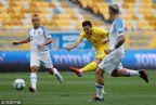 [高清组图]亚尔莫连科点杀 乌克兰1-0斯洛伐克