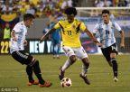 [高清组图]伊卡尔迪失良机 阿根廷0-0哥伦比亚