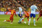 [高清组图]默尔滕斯进球德佩助攻 比利时1-1荷兰