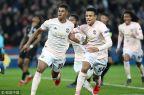 [高清组图]曼联客场3-1巴黎 晋级欧冠八强