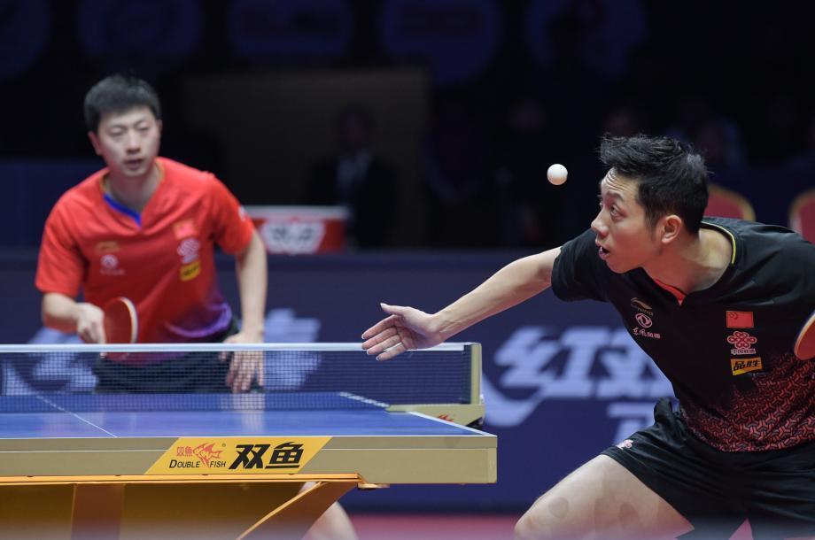 [圖]國際乒聯總決賽神仙打架 馬龍4-2擊敗許昕