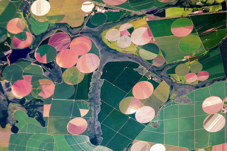 国际空间站升空20年 为地球留下靓丽影像
