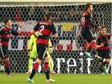 [国际足球]热身赛:门框助力德国队险胜智利