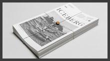 Iceberg 报纸版式设计