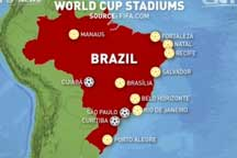 World Cup stadium setbacks continue in Brazil