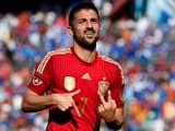[世界杯]比利亚梅开二度 西班牙热身赛胜弱旅