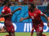 [世界杯]C罗右路狂奔斜传门前 瓦雷拉冲顶破门