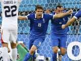 [世界杯]耶卡斯射门被扑 索科拉基斯补射追平