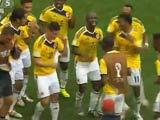 [世界杯]哥伦比亚在世界杯赛场掀起最炫民族风
