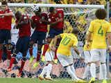 [世界杯]1/4决赛:巴西VS哥伦比亚 上半场