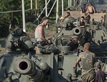 乌克兰政府军发起猛攻欲收复顿涅茨克