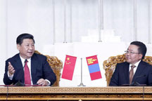 China, Mongolia sign flurry of trade agreements