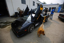 Lamborghini Diablo made in China