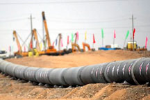 China´s west-to-east gas pipeline III finishes west section