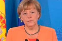 Germany's Merkel backs Spanish minister to head Eurogroup