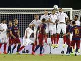 [国际足球]欧洲超级杯:巴塞罗那VS塞维利亚 上半场