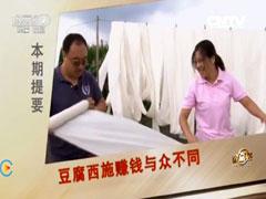 卜睿豆腐致富经,豆腐西施赚钱与众不同(20150907)