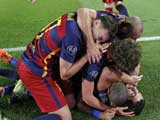 [欧冠]E组第2轮:巴塞罗那2-1勒沃库森 比赛集锦