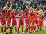 [德甲]拜仁主场2-0取胜 提前锁定半程冠军