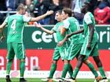 [德甲]第30轮:不来梅3-2沃尔夫斯堡 比赛集锦