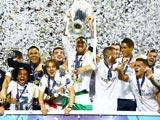 [欧冠]决赛:皇家马德里VS马德里竞技 颁奖仪式