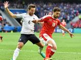 2016年06月20日 [欧洲杯]A组:瑞士0-0法国 比赛集锦