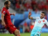 2016年06月22日 [欧洲杯]D组:捷克0-2土耳其 比赛集锦