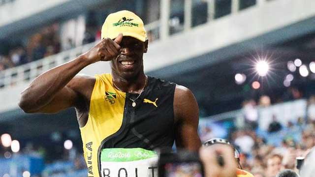 博尔特百米大赛不败 南非骁将破世界纪录