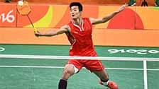 [羽毛球]冠军之争 谌龙李宗伟利发国际多拍回合