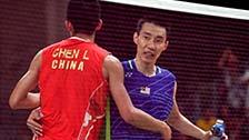 [羽毛球]奥运羽球男单决赛 李宗伟VS谌龙 集锦