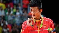 [羽毛球]奥运会羽毛球男子单打 颁奖仪式