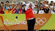 冯珊珊夺奥运会女子高尔夫铜牌