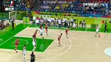 [奥运会]女子篮球铜牌赛 法国队VS塞尔维亚队