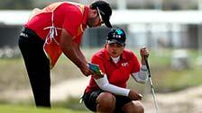 [夺金时刻]朴仁妃夺里约奥运会女子高尔夫金牌
