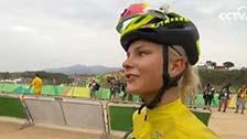 [夺金时刻]奥运山地自行车女子越野赛 珍妮夺冠