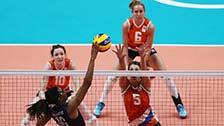 [奥运会]女排铜牌赛 美国队VS荷兰队