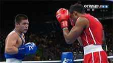 [夺金时刻]奥运男子拳击75kg级 洛佩兹夺冠