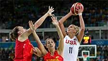 [篮球]奥运女篮决赛 美国队VS西班牙队 集锦