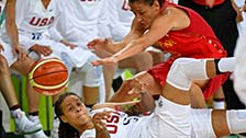 [奥运会]女子篮球决赛 美国队VS西班牙队