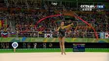 [夺金时刻]马蒙夺奥运艺术体操个人全能金牌