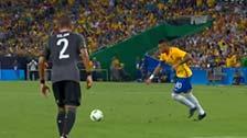 [利发国际]内马尔任意球世界波 力助巴西首开纪录