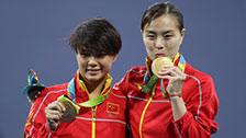 [奥运+油]回望里约 中国跳水队奥运征程