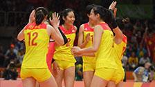 [夺金时刻]里约奥运会女子排球 中国队夺冠