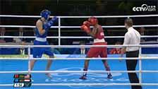[奥运会]女子拳击75kg级决赛 希尔兹VS范提恩