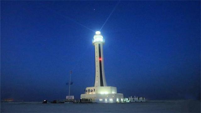 中国在南海岛礁开工建设的5座大型灯塔已经