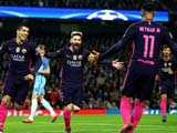 [欧冠]C组第4轮:曼城VS巴塞罗那 上半场