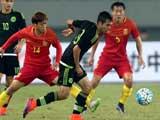 [国足]U22国际足球锦标赛:中国VS墨西哥 下半场