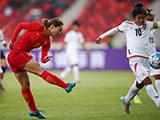 [女足]佛山国际女足锦标赛:中国VS缅甸 上半场